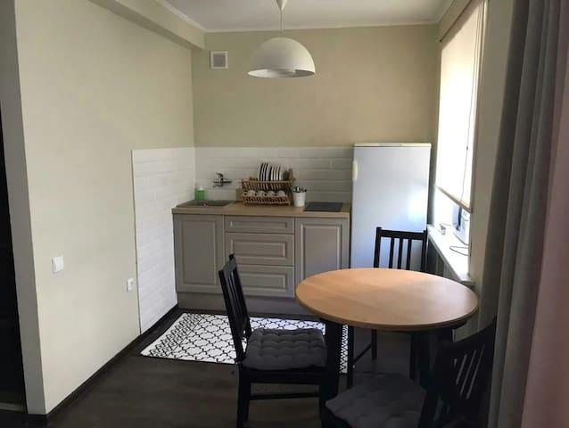 чистая уютная 1к в Центре