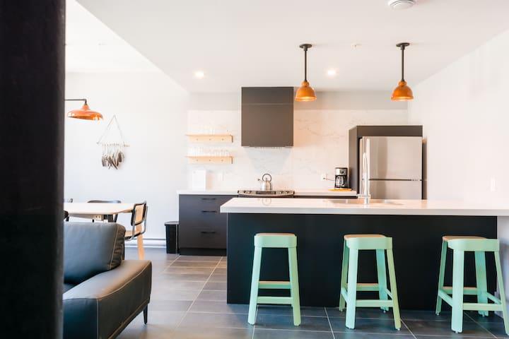 T01 Grand Appartement 2 chambres - Ville de Québec - Pis
