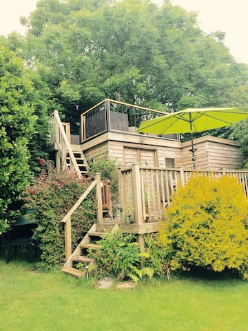Island View Cabin - Tenby - S.Wales - Tenby - Zomerhuis/Cottage