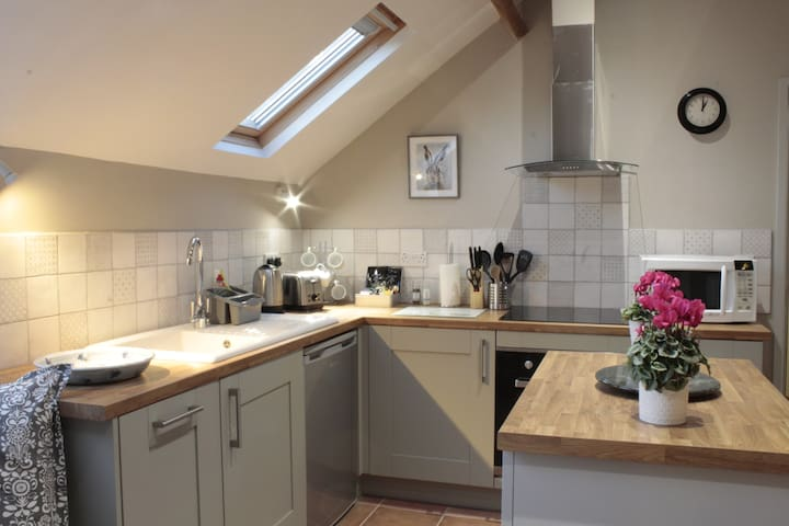 The Hayloft, Ellesmere - spacious and comfortable