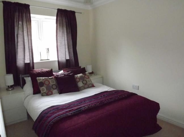One of the double bedrooms available