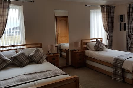 Ruarach Croft House Room 1