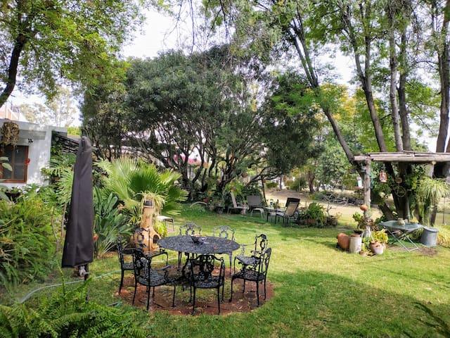 Casa con Jardín Especial