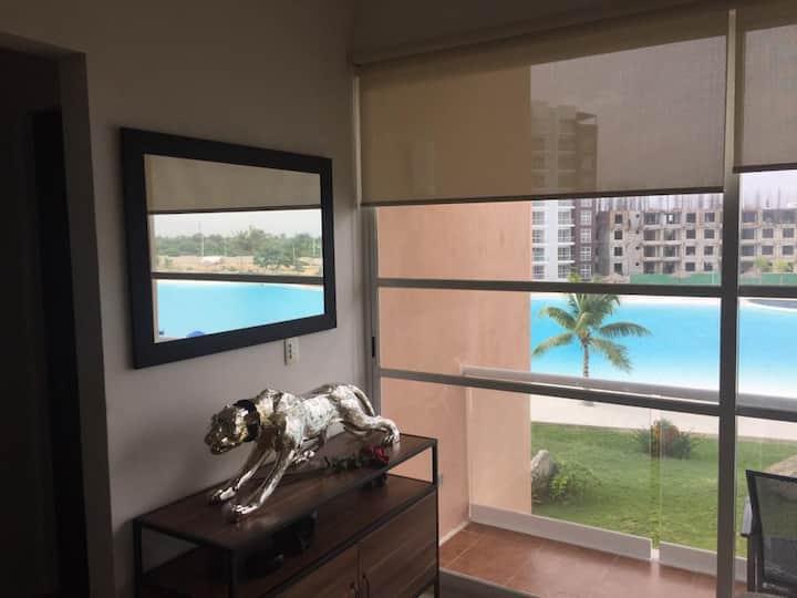Nice area in Cancun