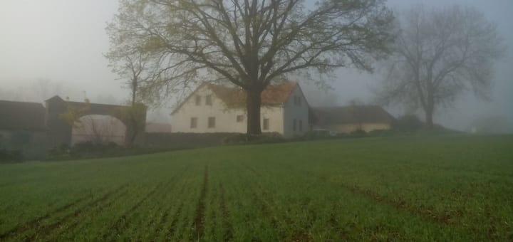 Family farm in Uklid