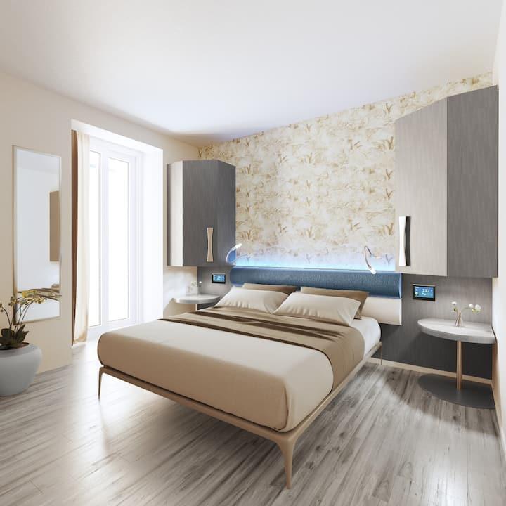 Hotel nuovo, elegante, ultra contemporaneo.
