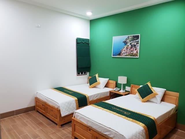 Quy nhon center hotel - 2 single beds