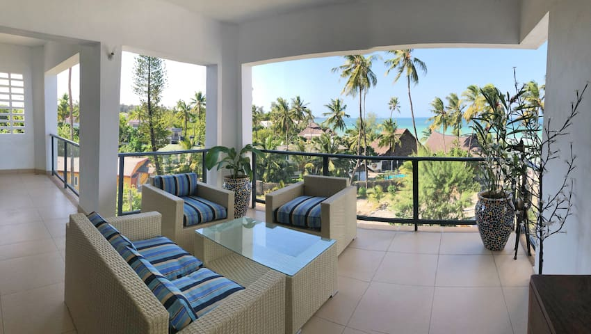 Oceanview room with balcony