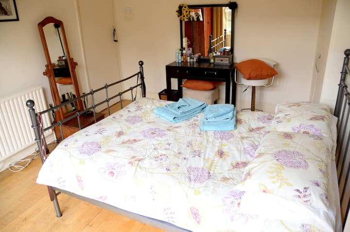 Beauriful double room with Garden