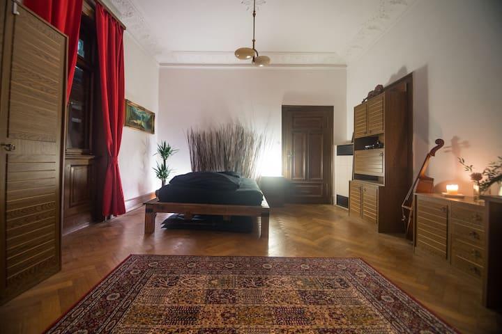 Zentrales herrschaftliches Zimmer - Ludwigsburg - Appartamento