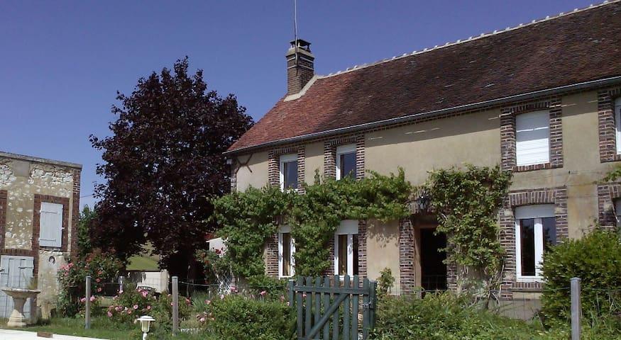 Demi-maison de campagne Bourgogne - Parly - Pension