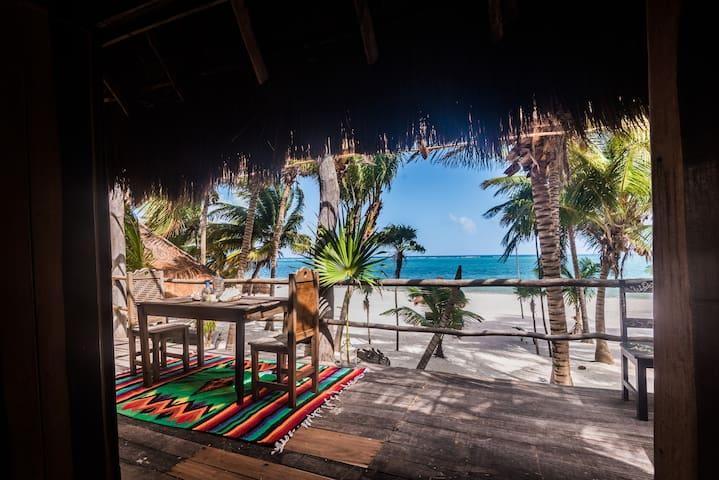 Casa Palma ☀ Paradiso Tropicale  in spiaggia!