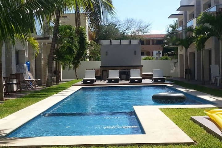 Loft in gated community Playacar 3107