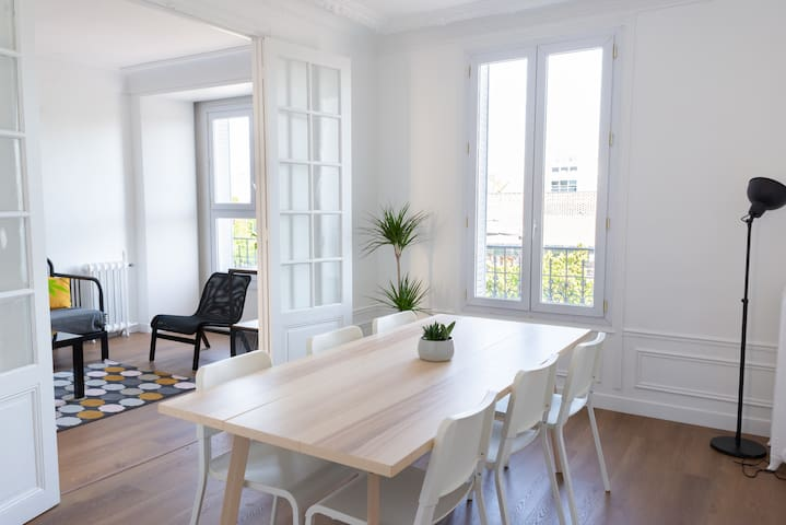 74sqm apt. 15' from Paris, Parc des Expos  & CDG