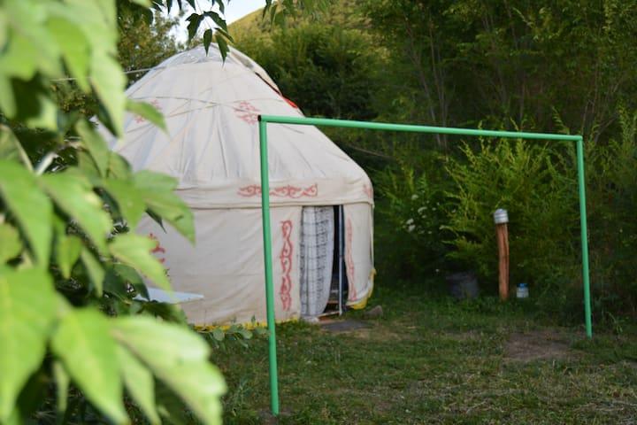 Comfortable yurts placed in garden - Turgen - Юрта