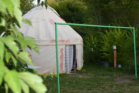 Comfortable yurts placed in garden - Turgen - Yurt