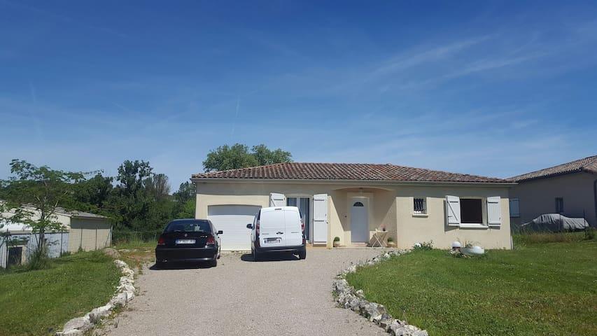 Maison 95 m2 calme 10 min Montauban