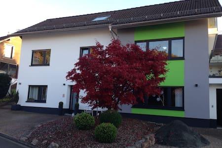 Moderne klassifizierte 4 Sterne Ferienwohnung - Wilnsdorf