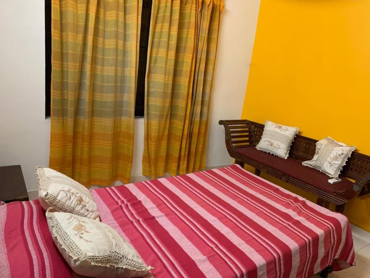 A/C Bedroom 1 with double bed