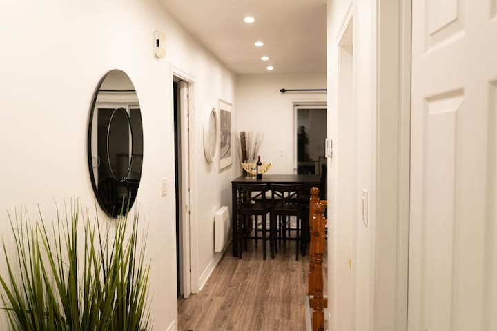 Beautiful lower duplex with a huge basement