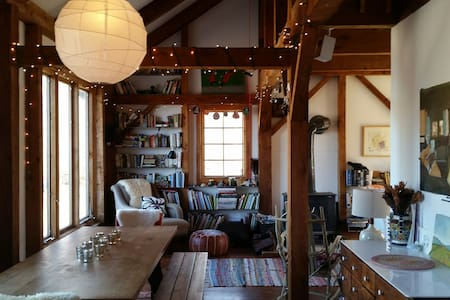 Secluded Post-And-Beam Retreat - Ancram - 獨棟