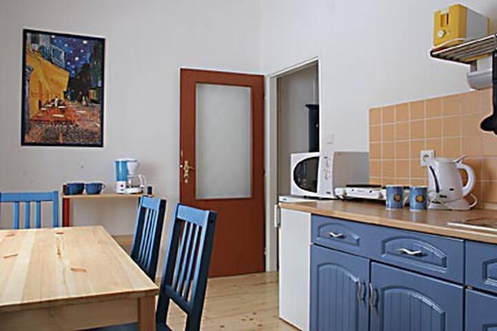 Apartmán č. 3 v horském městečku Janov nad Nisou