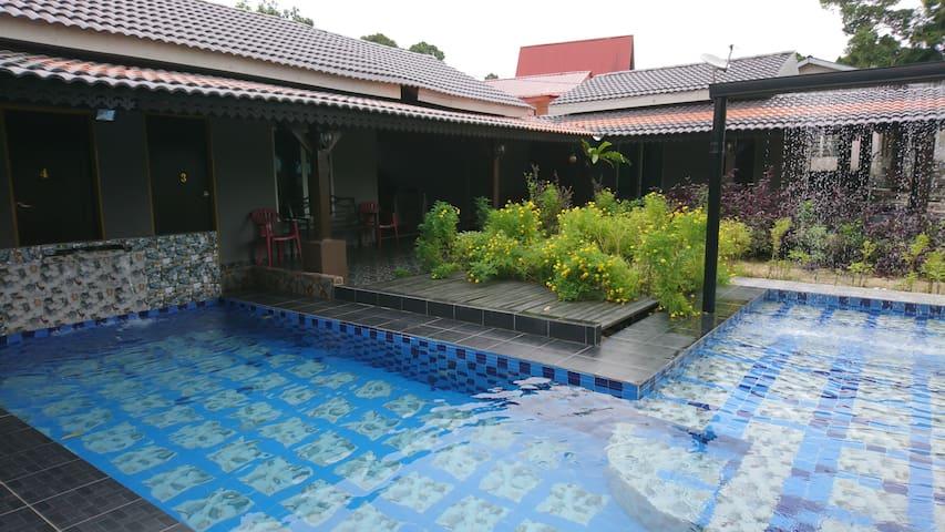 Homestay Melaka Pool Near Bayou  5R 10Beds