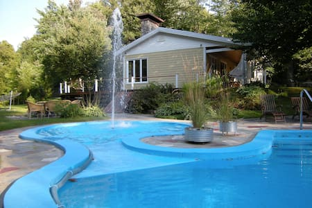 Nature haven 20 min.from Québec city (heated pool) - Sainte-Marie - 独立屋