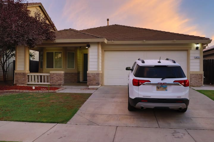 Relaxing Getaway Home in North Merced