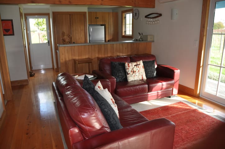 Luxurious lounge, great for viewing the sunsets