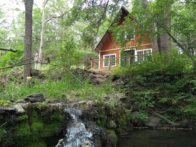 Secluded A-frame on a Forested 40 Acre Farm