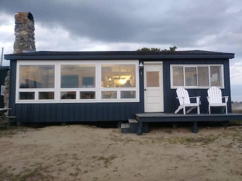 Beachfront Driftwood Cottage
