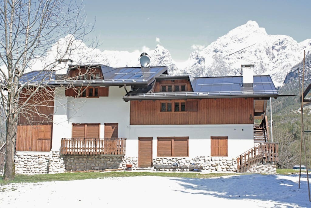 Gorgeous chalet in the dolomites appartamenti in affitto for Affitto chalet cortina
