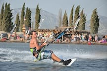 Kiteboarding on delta Neretva.. Only 10 minutes from the apartment