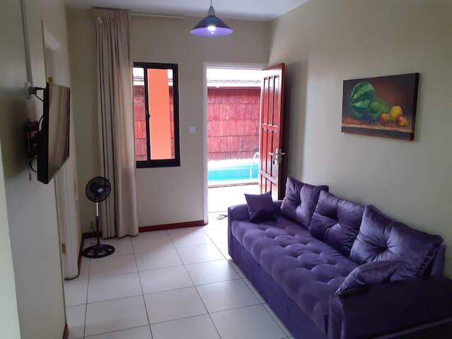 Max Garden and Pool (Purple Rain)