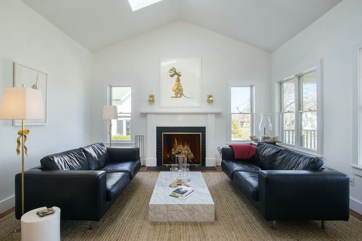 Dog-friendly, contemporary home w/ a private, heated pool - walk to the river!