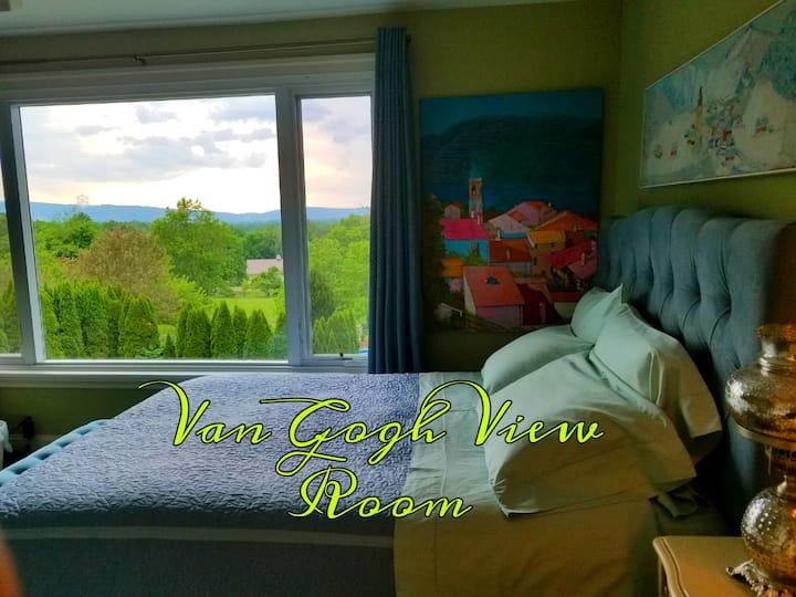 Van Gogh's View in Private Villa