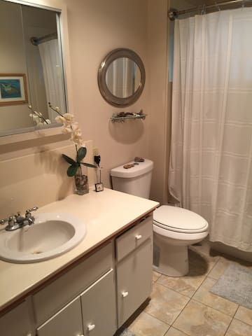 In house bath/shower