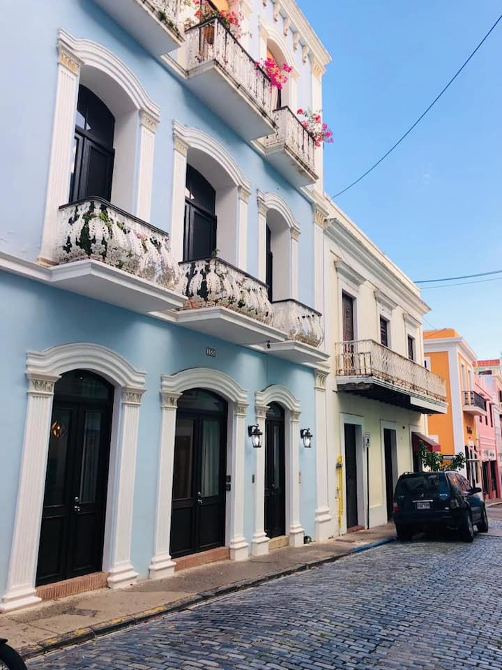BLUE SOL in the Heart of Old San Juan
