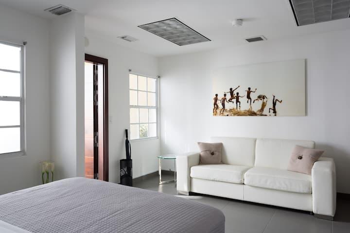 Unit 2- Miami Wynwood Studio with private entrance