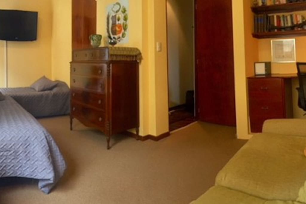 Suite for 2,  includes sofa bed