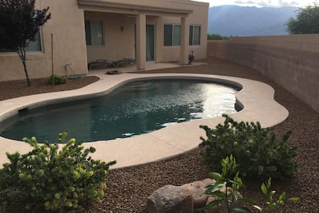 Oro Valley Contemp. w/ Mountain Views + Tesla Chgr