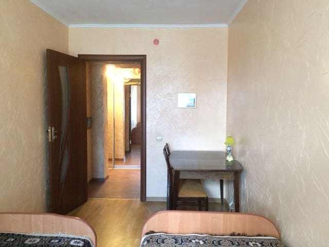 Затишна євро квартира 10 хв. хотьби від центру - Truskavets' - Serviced flat