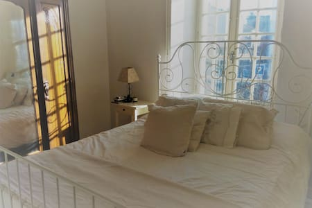 The White Bedroom - Charroux - Rumah