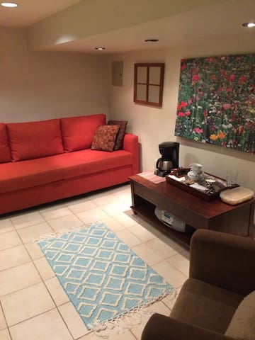 Private Comfy Finished Basement Suite