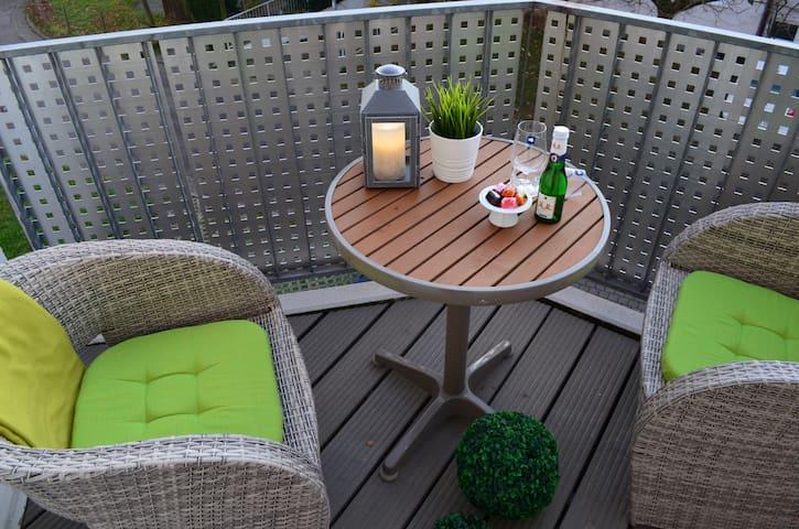 SKY Apartment-Balkon+Parkplatz+Aufzug+WLAN