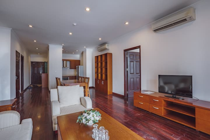 OUTDOOR POOL/THREE BEDROOMS APARTMENT FOR FAMILY
