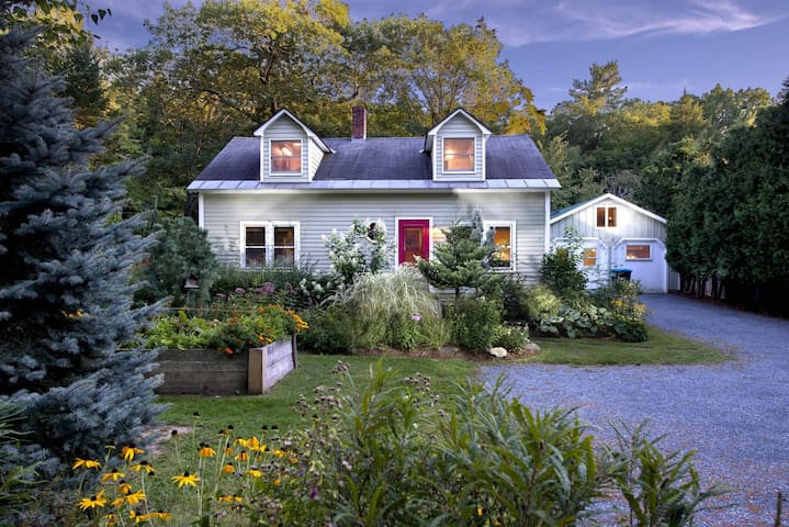 Beautiful home on Middlebury River