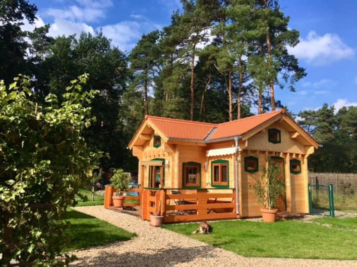 Small romantic blockhouse