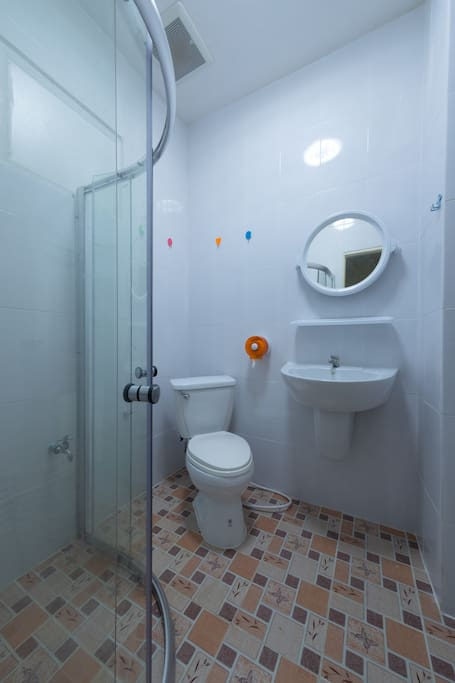 Shower room/Toilet each floor.